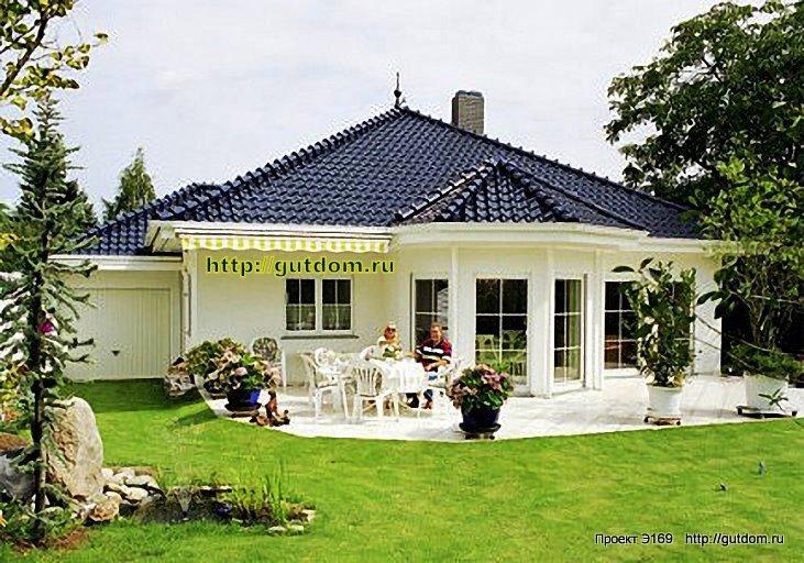 одноэтажные дома фото красивые