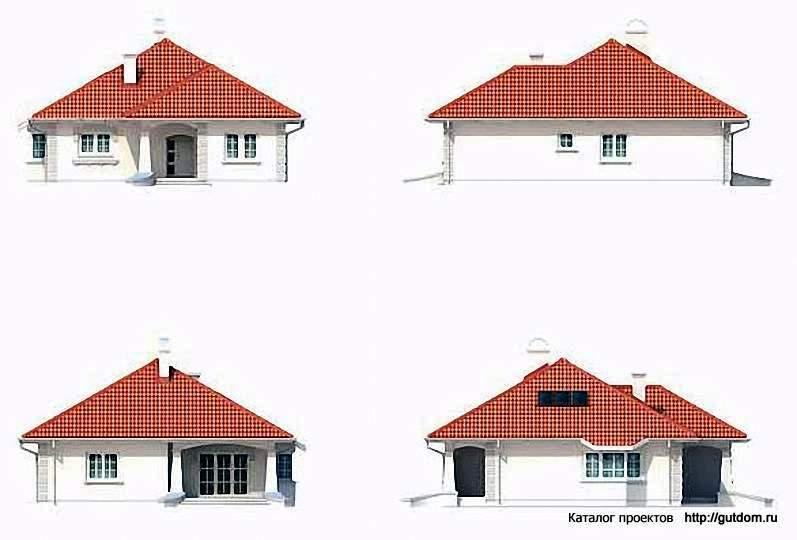 Стильный загородный дом- Roomblecom