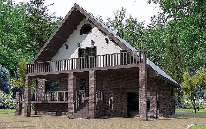 Проекты деревянных домов и бань под ключ Проектирование