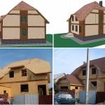 дом каркасный двухэтажный