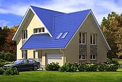 Проект СИП 112 дом двухэтажный ум