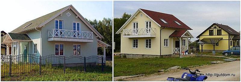 Проект СИП 135 построенные дома