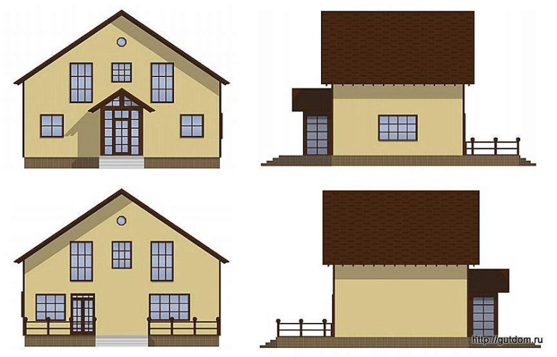 Проект СИП 137 эскизы фасадов