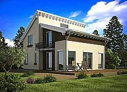 Проект двухэтажного дома СИП 109 ум