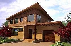 Проект двухэтажного дома СИП 130 ум