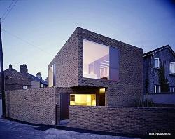 фасад двухэтажного дома ум