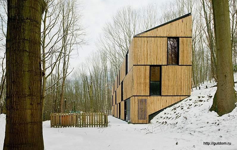 двухэтажный дом Бельгия
