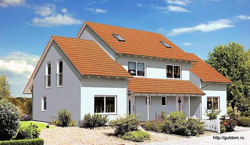 Дом на две семьи Проект ГБ70