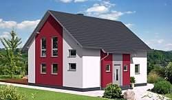 Проект дома из газобетона ГБ49-3 ум