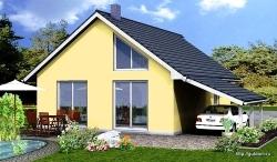 Проект дома из газобетона ГБ56 ум