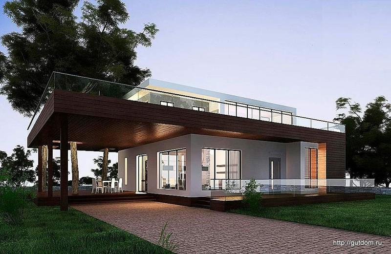 Проект Ytong ГБ73 площадью 130 м2