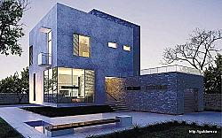 Проект Ytong двухэтажного дома из газобетона ГБ77 ум