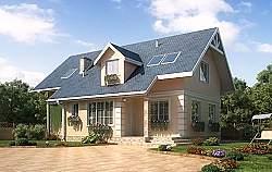 Проект Ytong дома ГБ79 ум