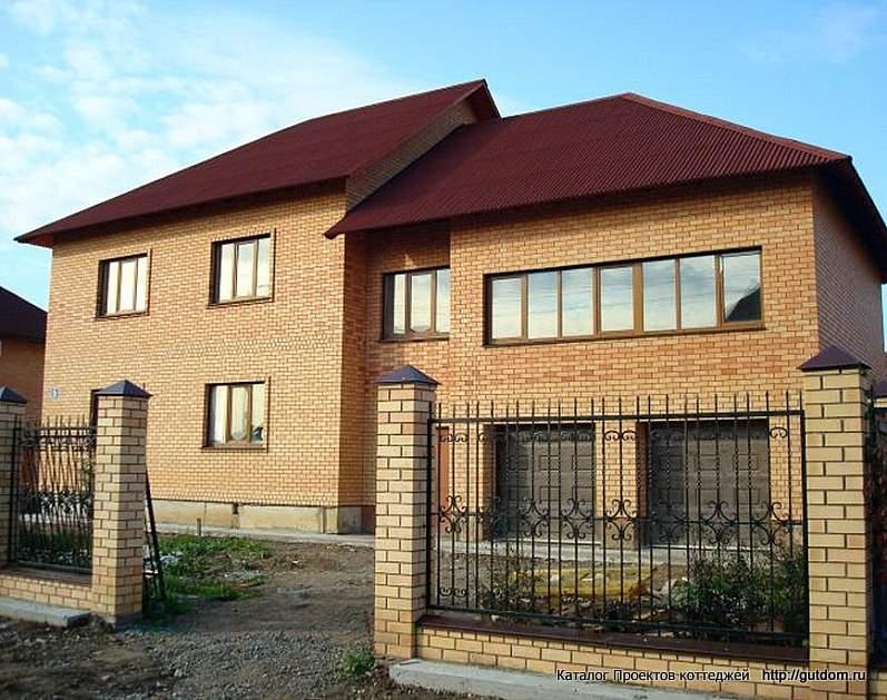 фото 1, двухэтажный дом по Проекту ГБ33