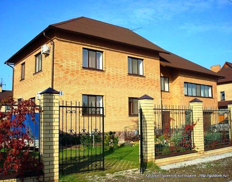 фото 2, двухэтажный дом по Проекту ГБ33