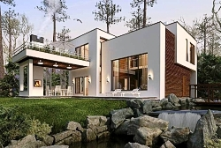 Ytong Проект дома из газобетона ГБ76 ум