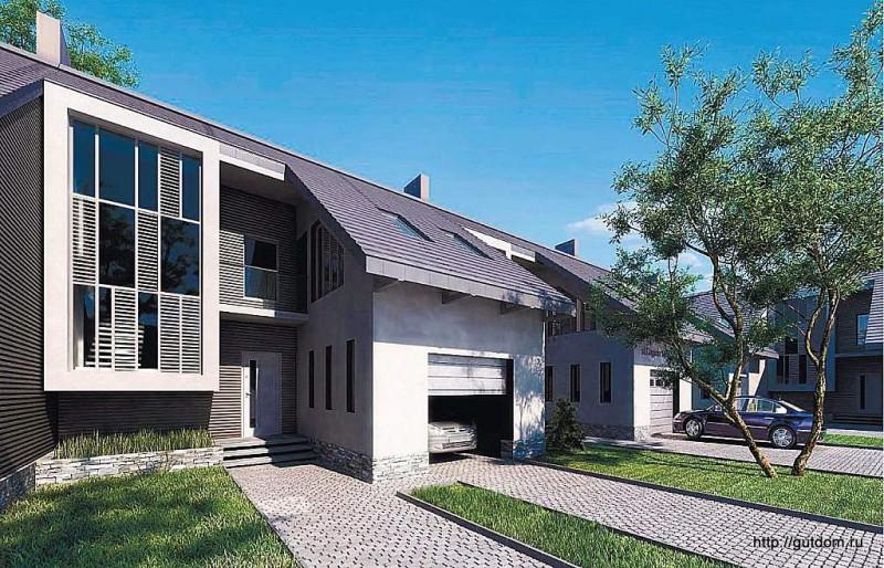 Проект дома Ytong ГБ74 площадью 142,5 м2