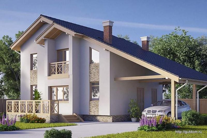Ytong Проект дома ГБ84 площадью 131 м2