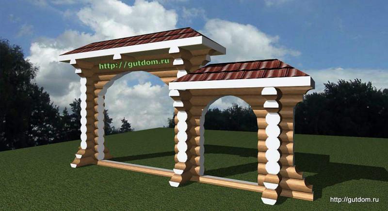 Проект декоративной арки 2