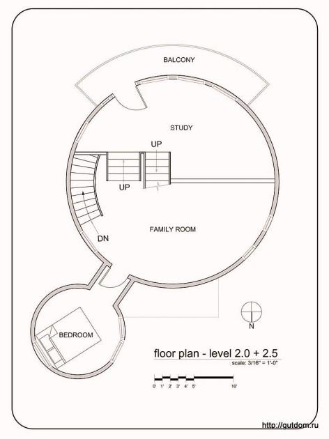 План на втором уровне