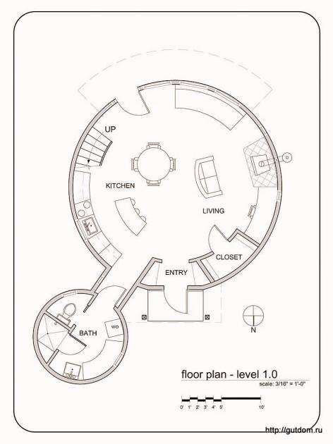 План на первом уровне