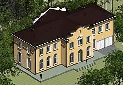 Проекты домов, коттеджей, бань Архитектора Панц