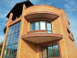 Проект двухэтажного дома с подвалом и мансардой Влад1 ум