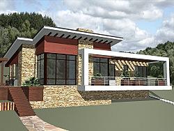 Проект одноэтажного дома Влад2 ум