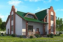 Проекты каркасных домов в Нижнем Новгороде