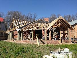 Проект стропильной крыши Кир2