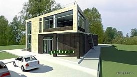Проект торгово - офисного здания в Нижнем Новгороде, 275