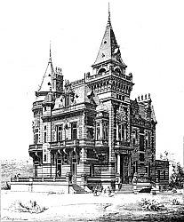 Проект виллы, Аргентина, 1893 г. 250 px