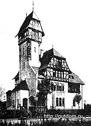 Проект виллы, Германия, конец 19 века, 250
