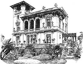 Проект виллы, Франция, 1890 г., 250