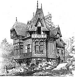 Проект виллы, 1895 г., 250