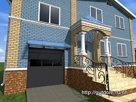 Разработка Проекта крыльца Нижний Новгород 275