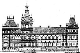 проект виллы, вторая половина 19 века