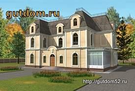проект дома особняка 613 кв.м, 275