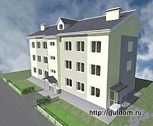 проект малоэтажного дома, 300