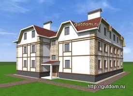 проект малоэтажного многоквартирного дома