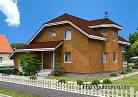 Проект дома с мансардой ГБ74, 275