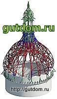 Пространственные металлоконструкции, купол диаметром 9 метров, 200