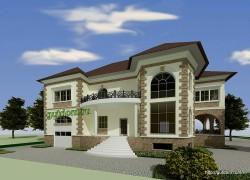 Проекты фасадов крылец коттеджей домов, 900