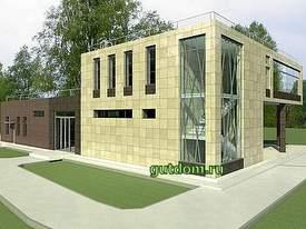 Проект торгово офисного здания, Ладо9