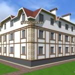 проект малоэтажного многоквартирного дома Ладо26,