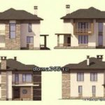 фасады дома
