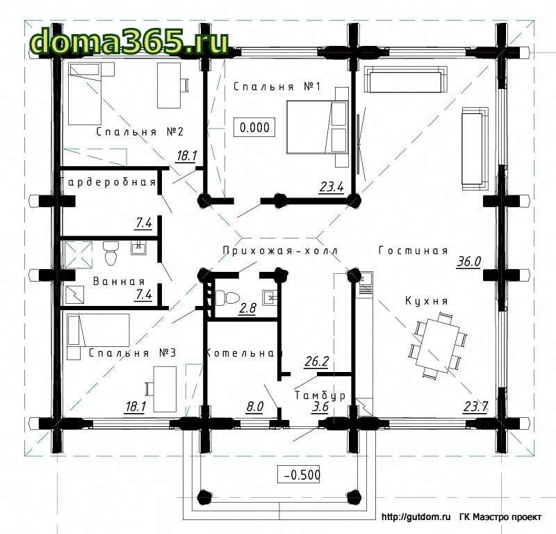 план дома