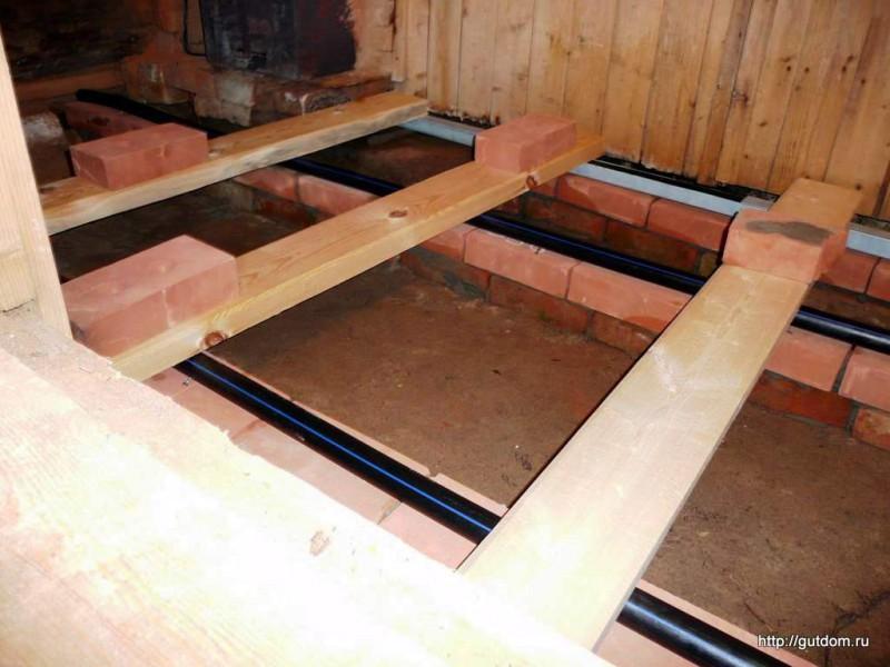 Как сделать стяжку на деревянном полу