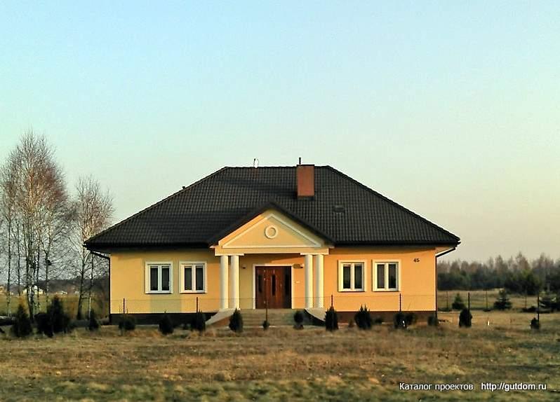 производстве дома из блоков одноэтажные Brubeck Польская