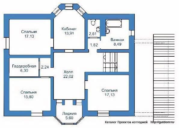 проекты домов 12 на 12 двухэтажный с чертежами ткани, отличающаяся